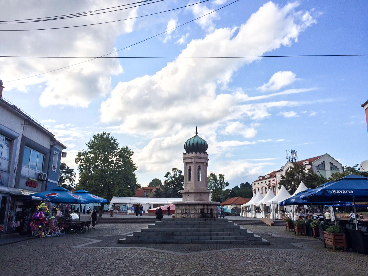 En dag i Tuzla, Bosnien.