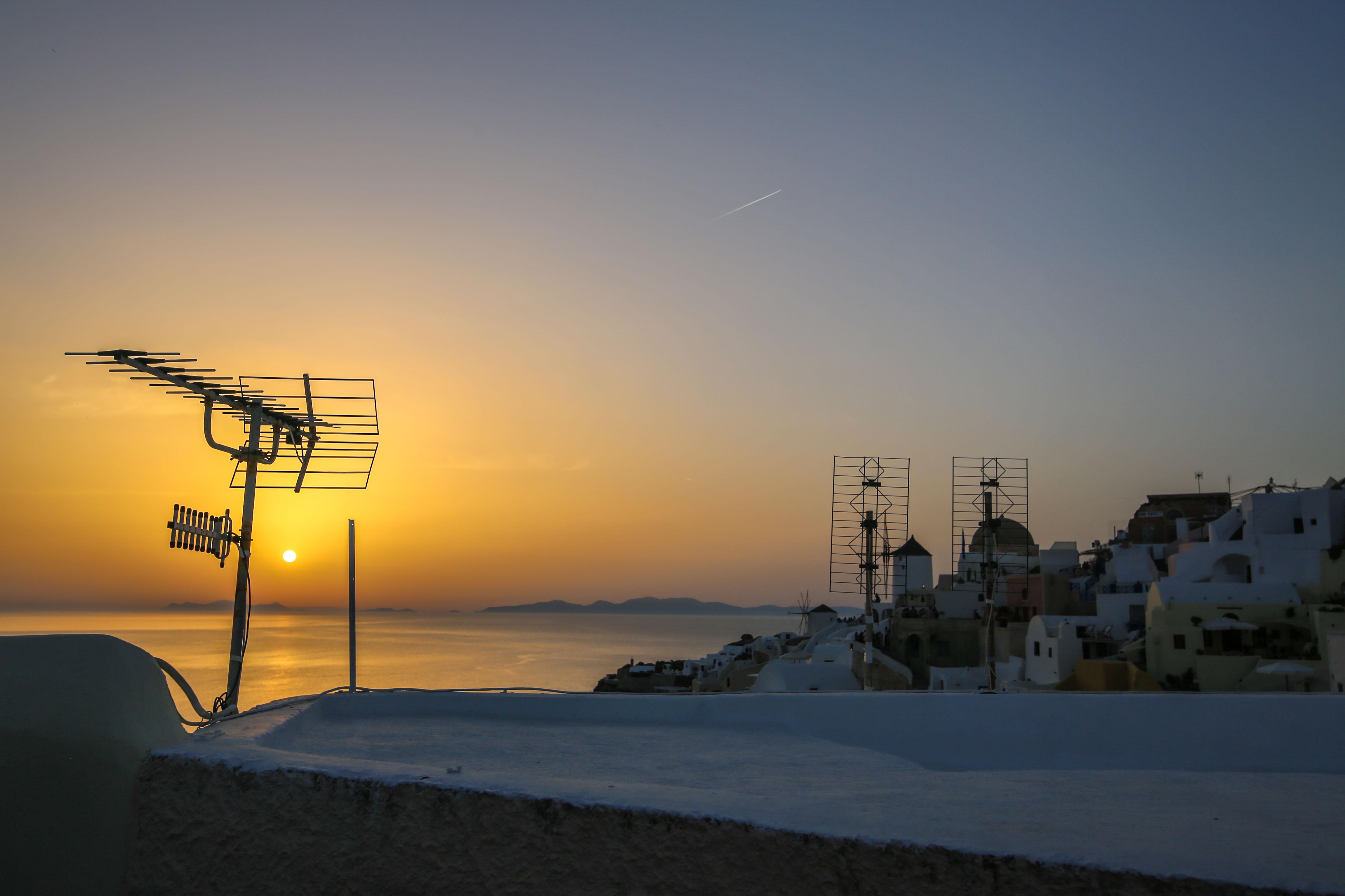 Santorini – och den där jävla solnedgången…