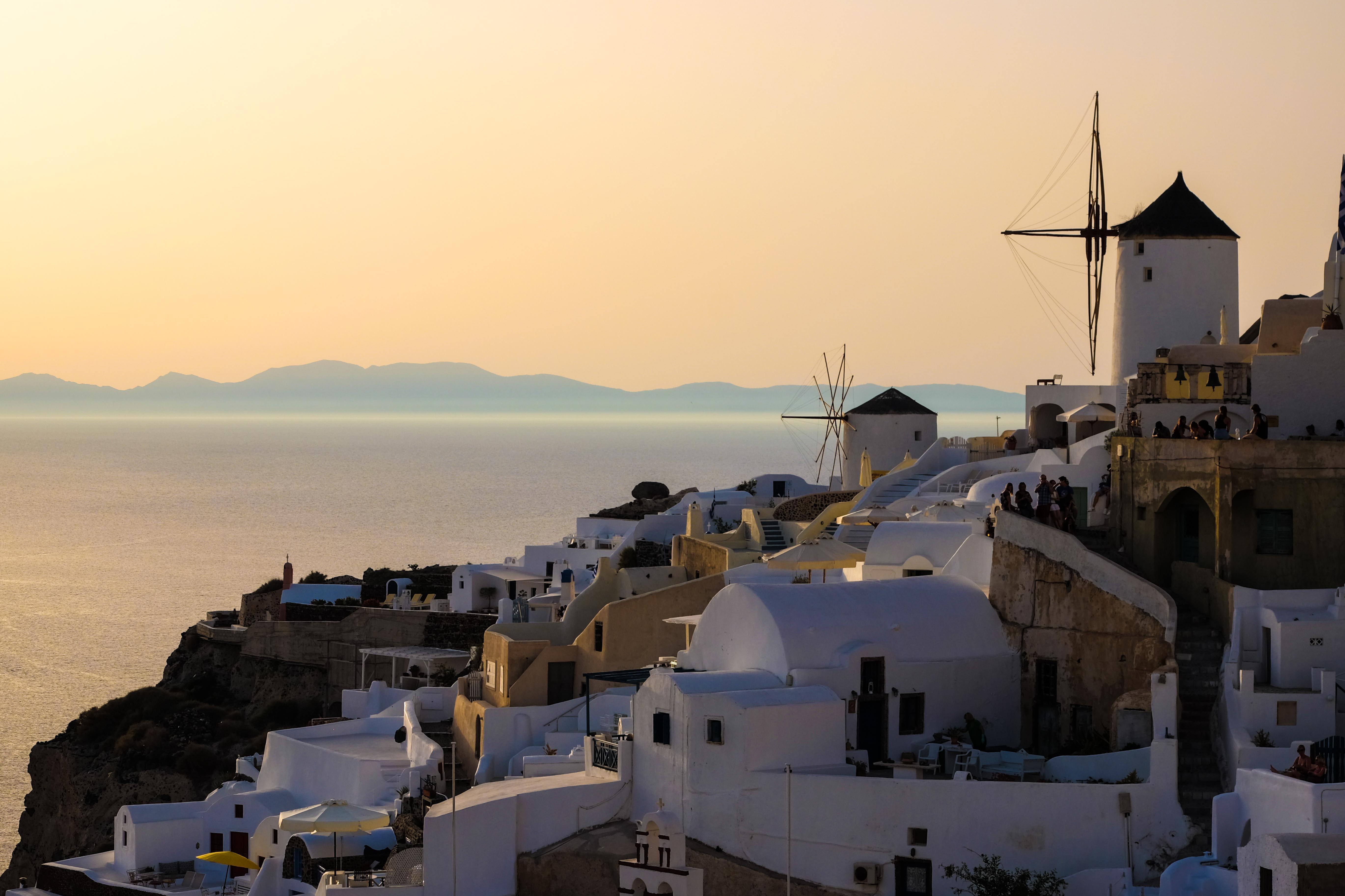 Billig semester på lyxiga Santorini
