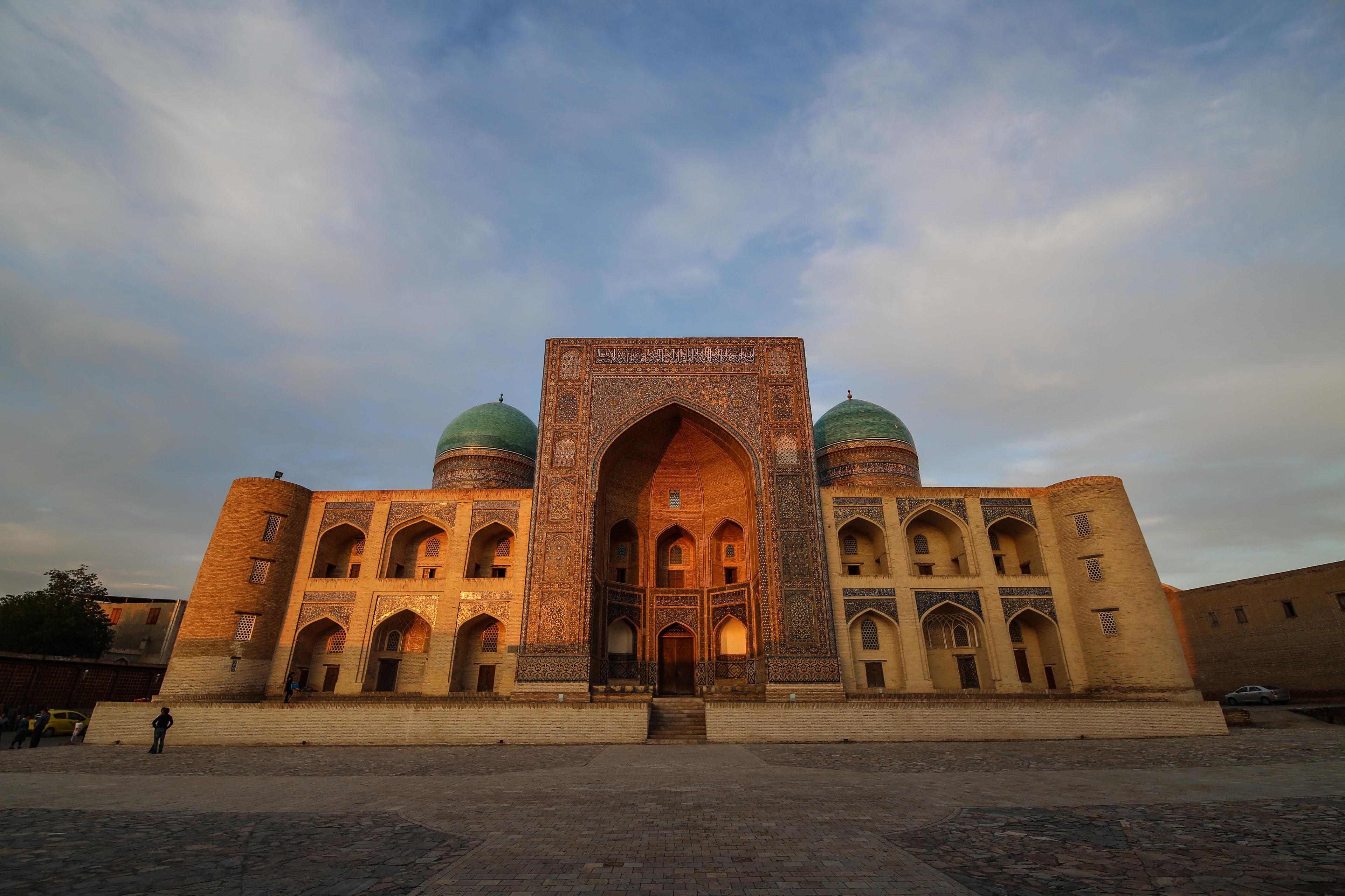 Förberedelser inför Centralasien
