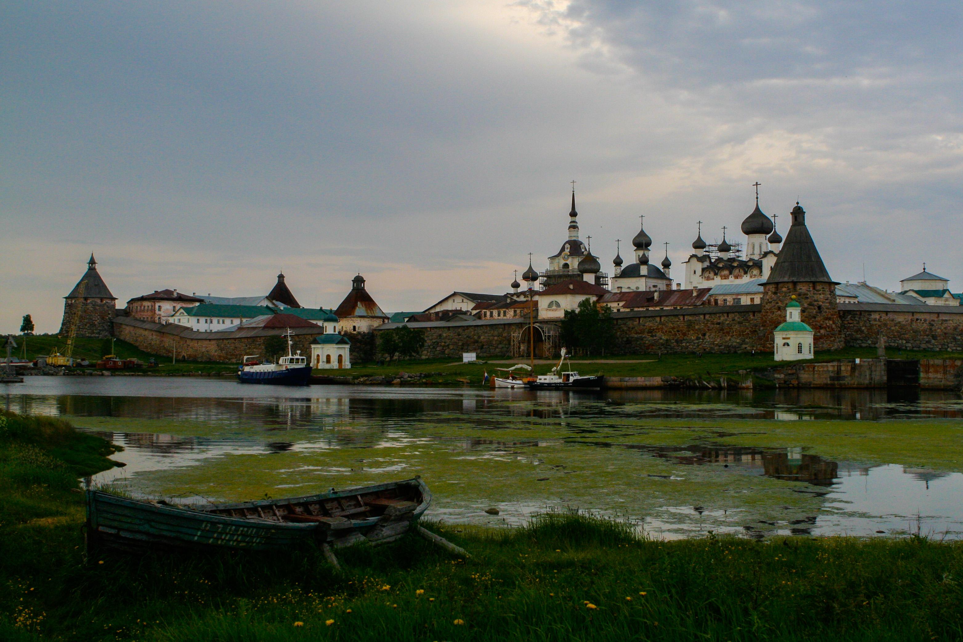 Min bästa bild – Solovetskijöarna