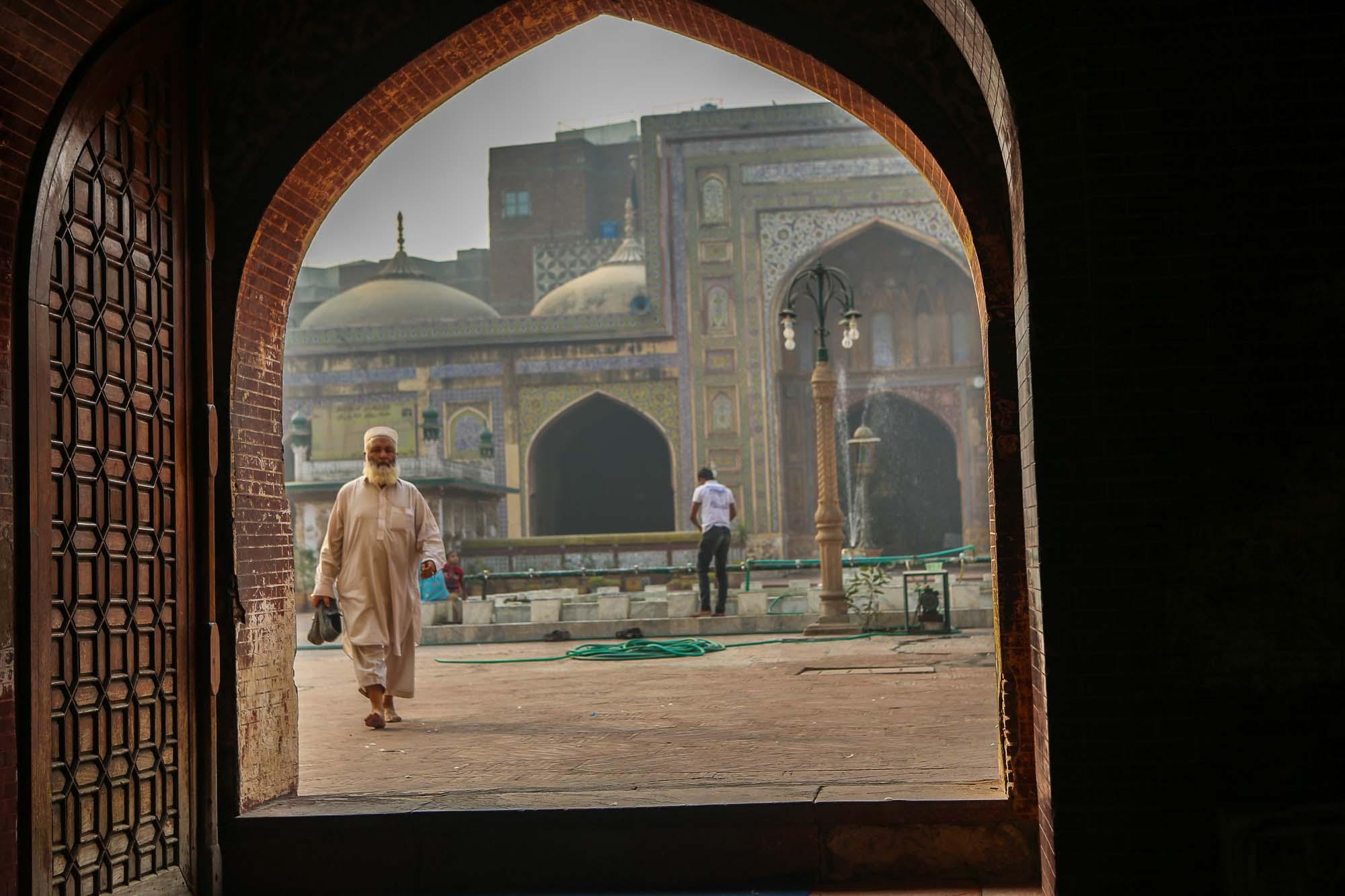 Inlåst i en minaret – Wazir Khan Mosque