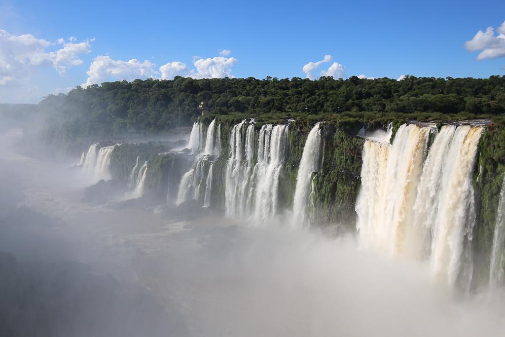 Vykort från Iguazufallen