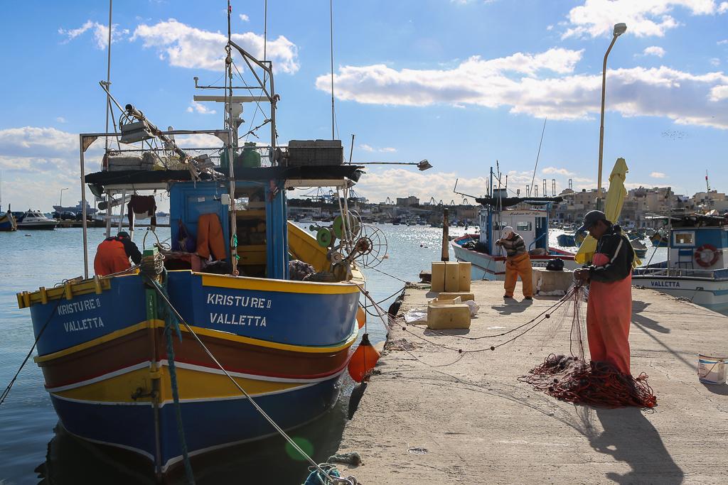 Marsaxlokk – berättelsen om de gamla fiskarbåtarna