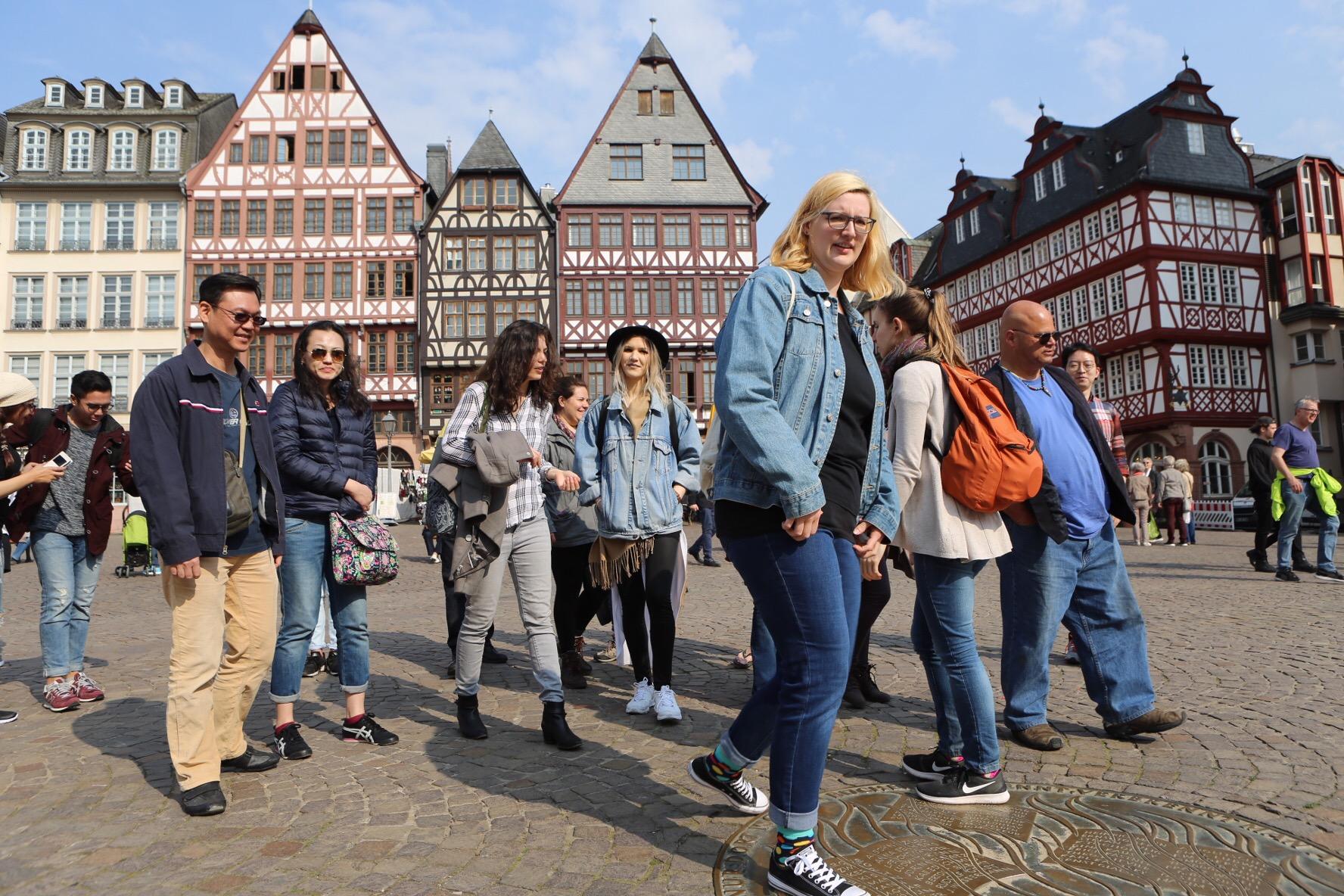 Vykort från Frankfurt
