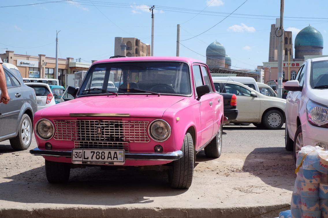 Samarkand, Uzbekistan. 22 april