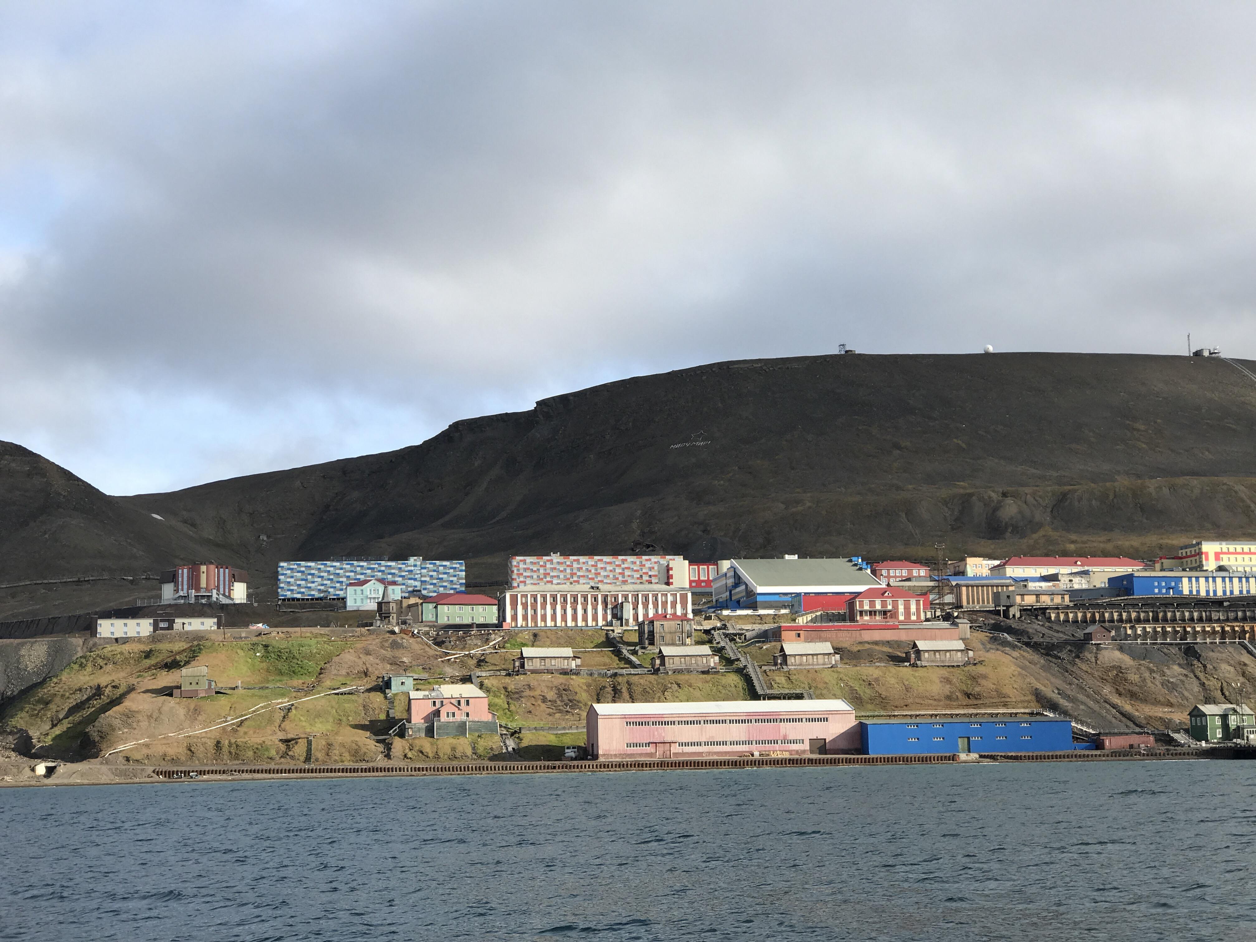 Kryssning till Barentsburg