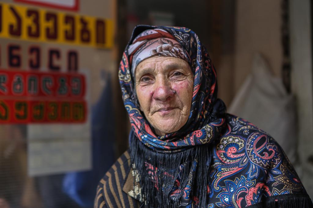 Den mest spännande marknaden i Tbilisi