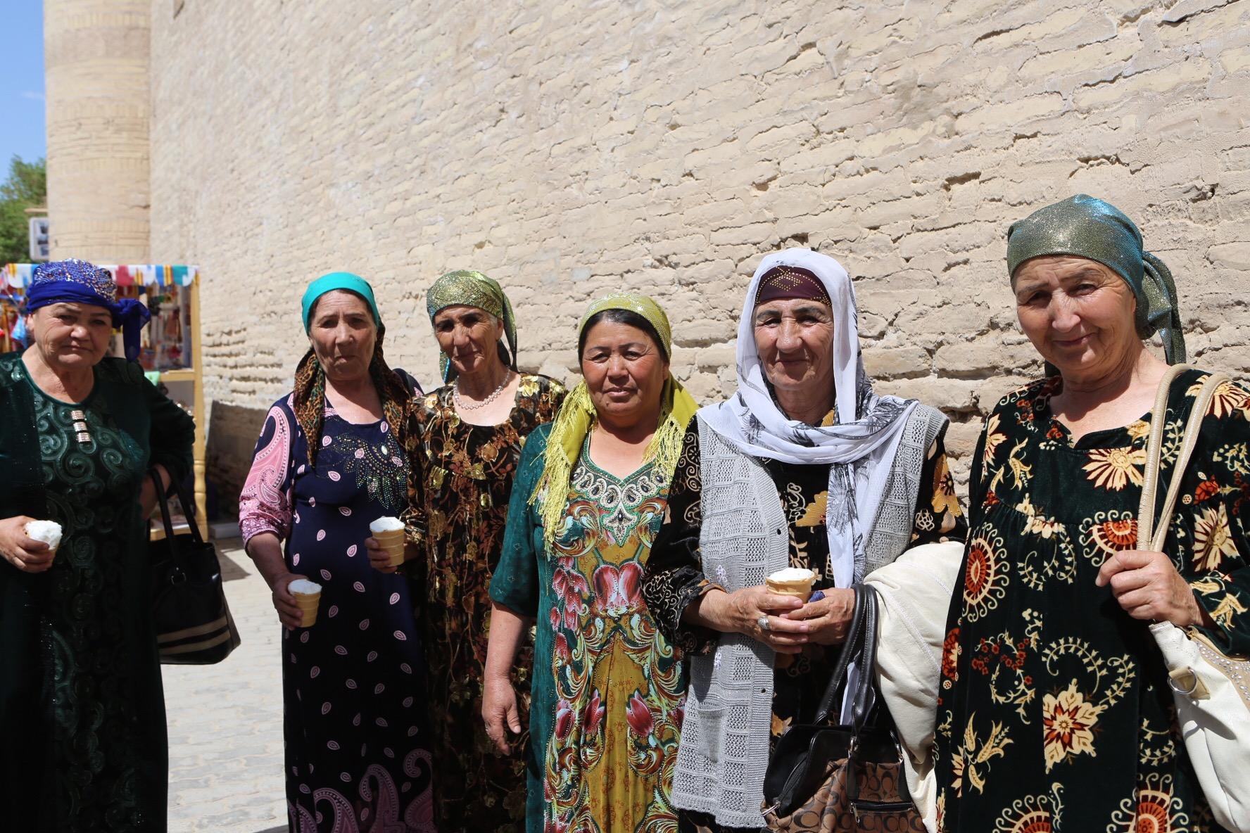 Glasstanterna i Khiva