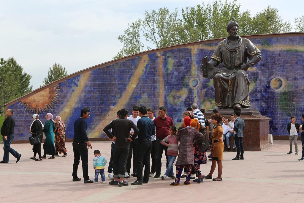 7 icke-favoriter i Samarkand