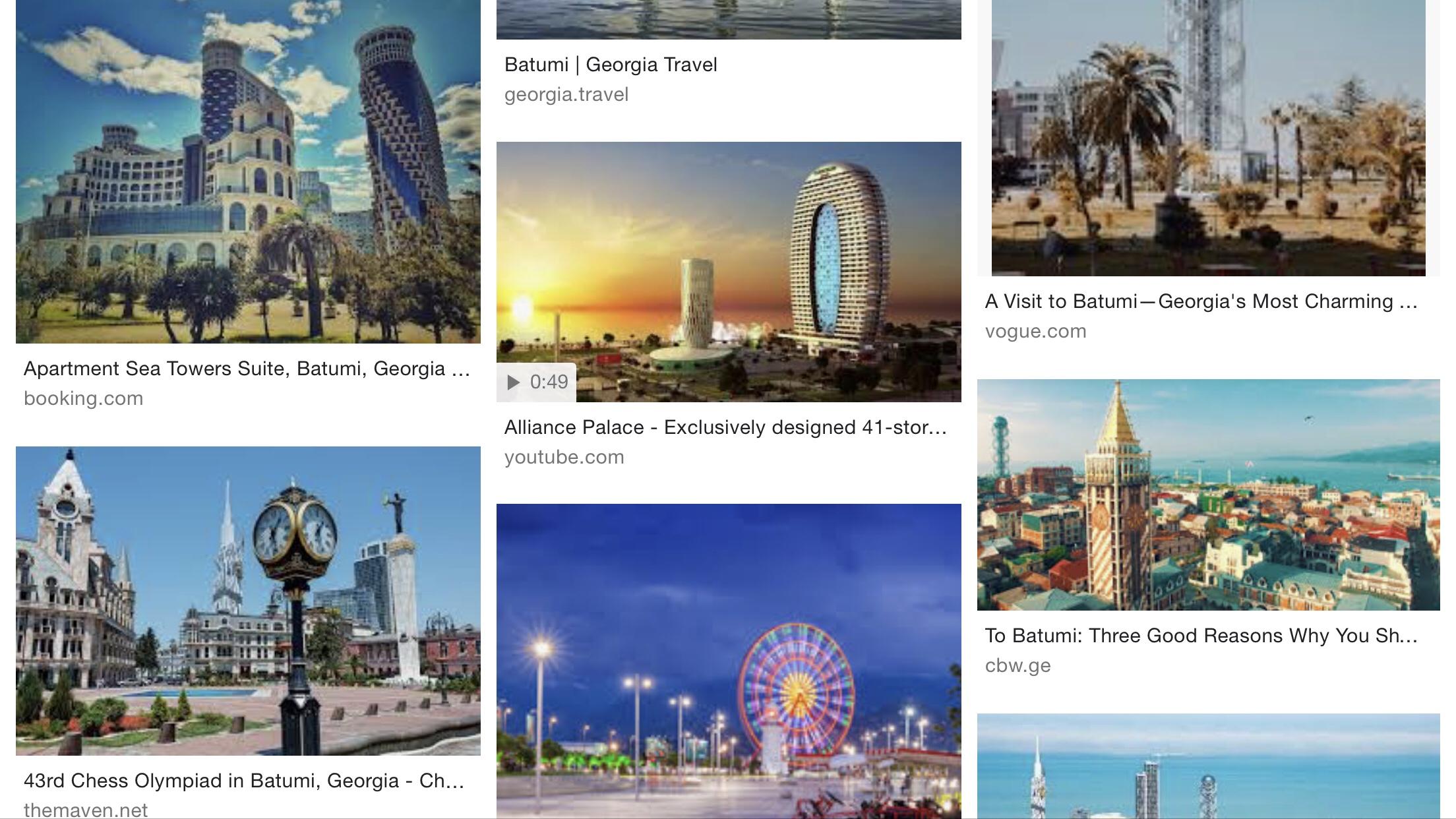 Nästa stopp – Minsk och Batumi