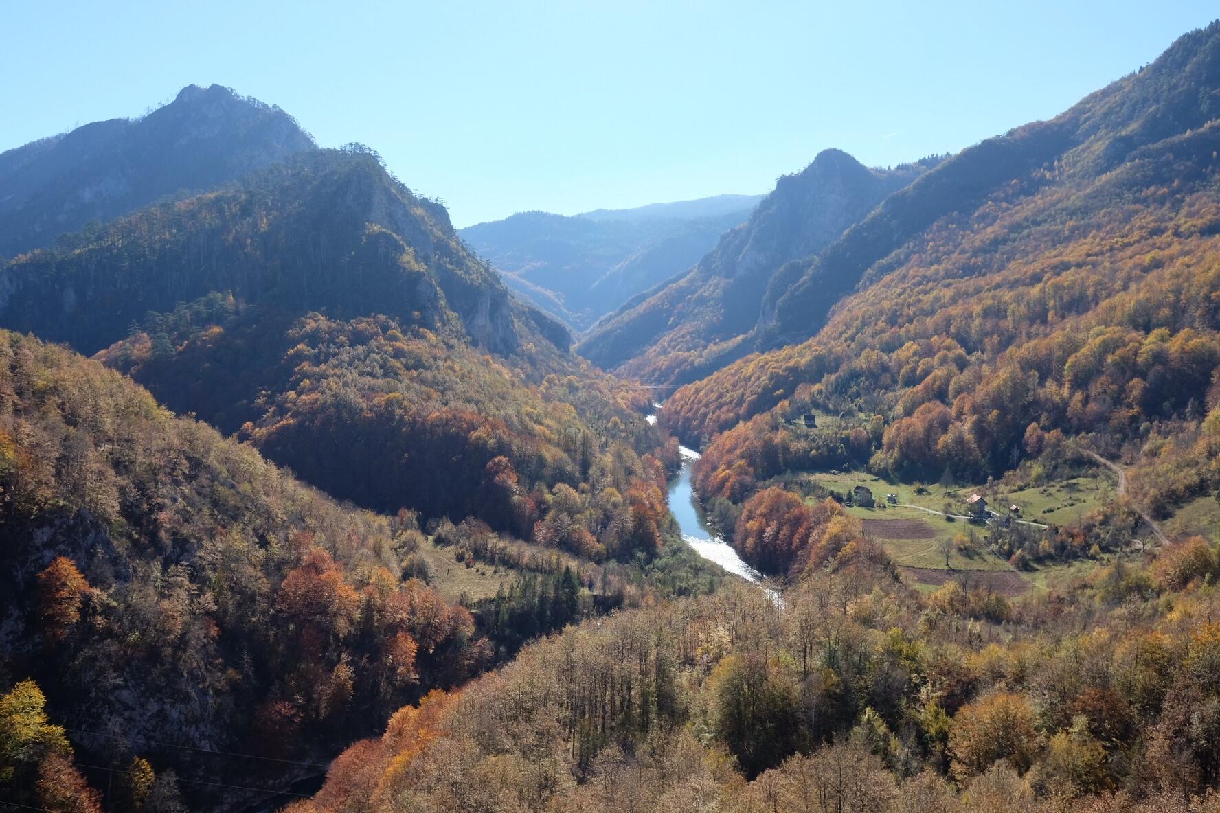 Höst i Montenegro