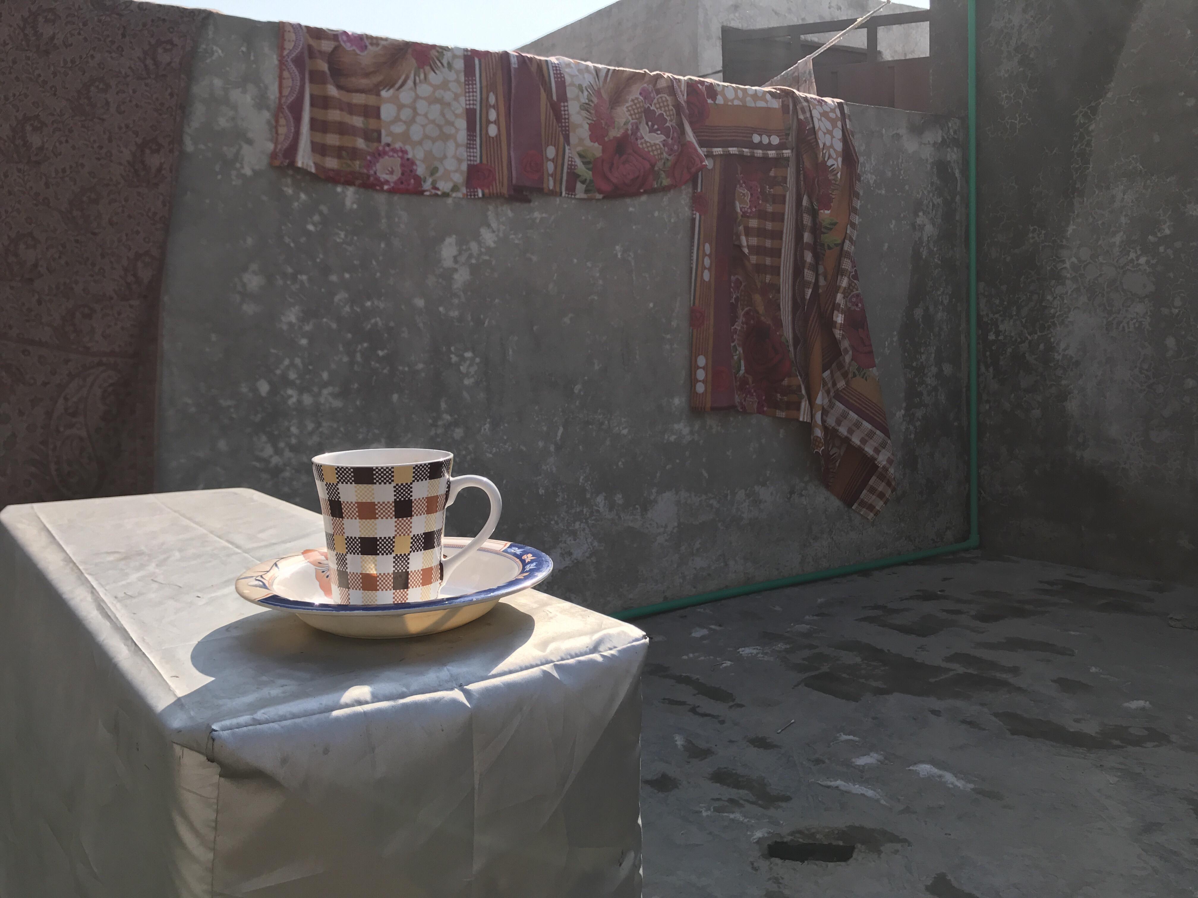 Sista kaffet på taket