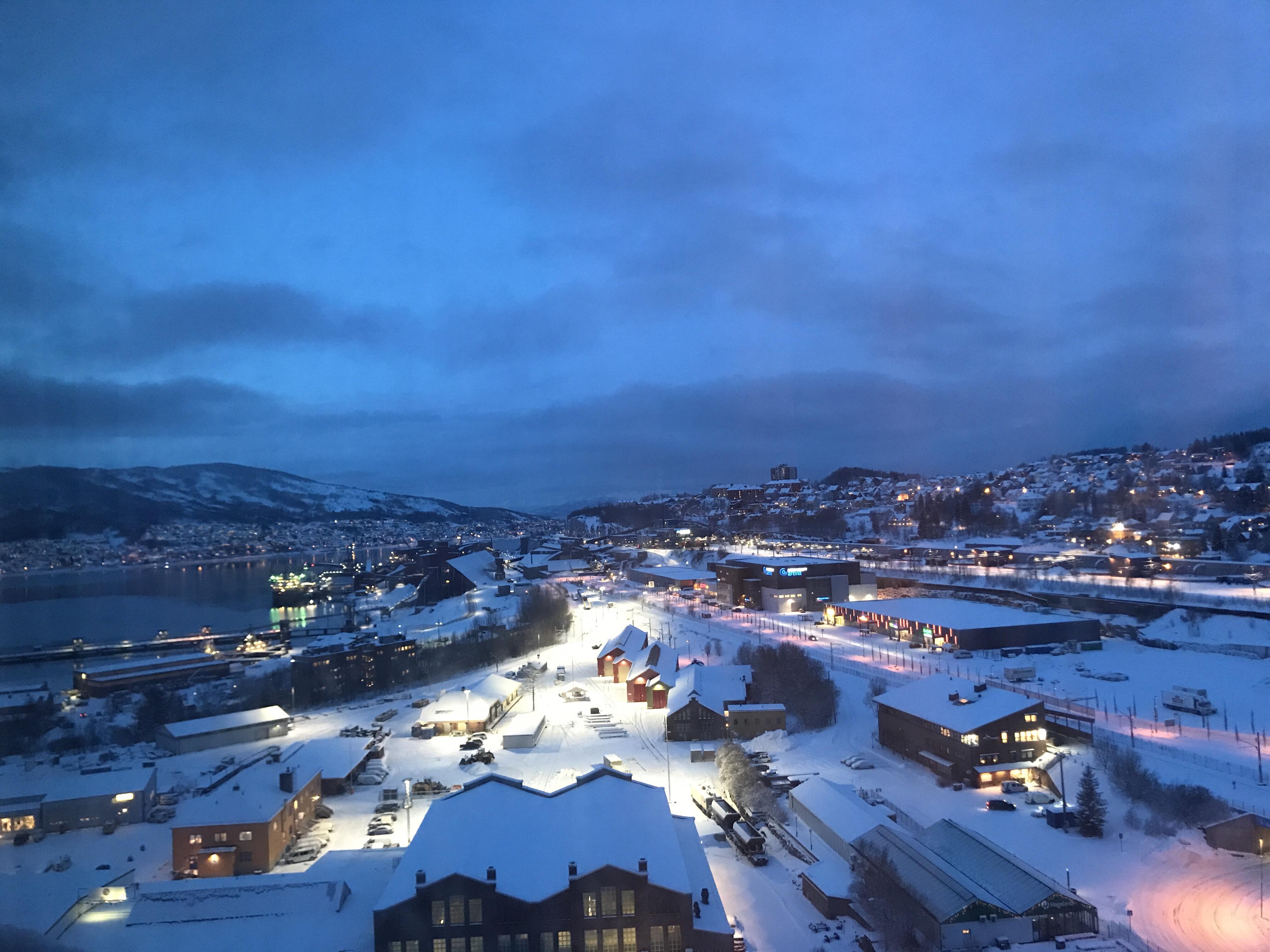 Det blåa ljuset i norr