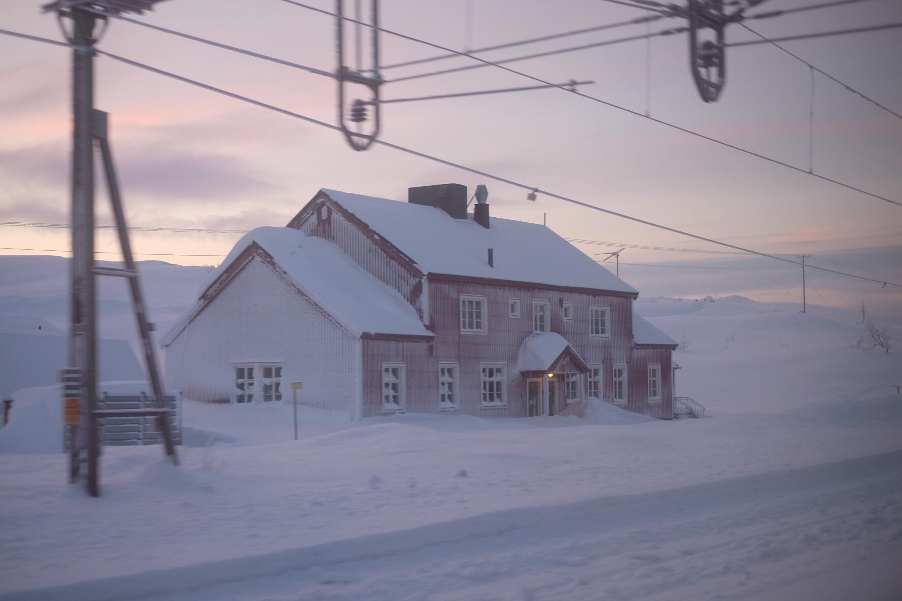 Misslyckad mat, Formex och nattåg till Narvik