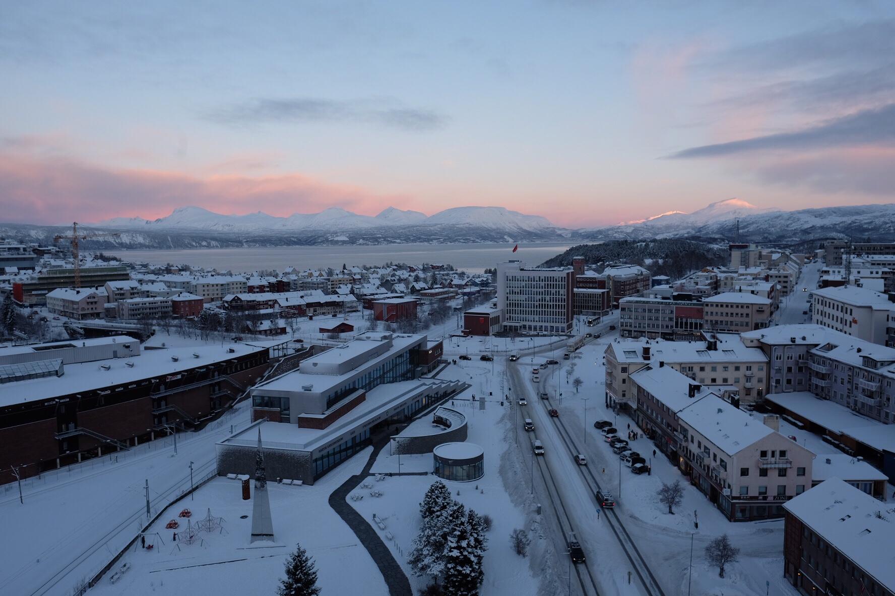 Hej och hejdå Narvik