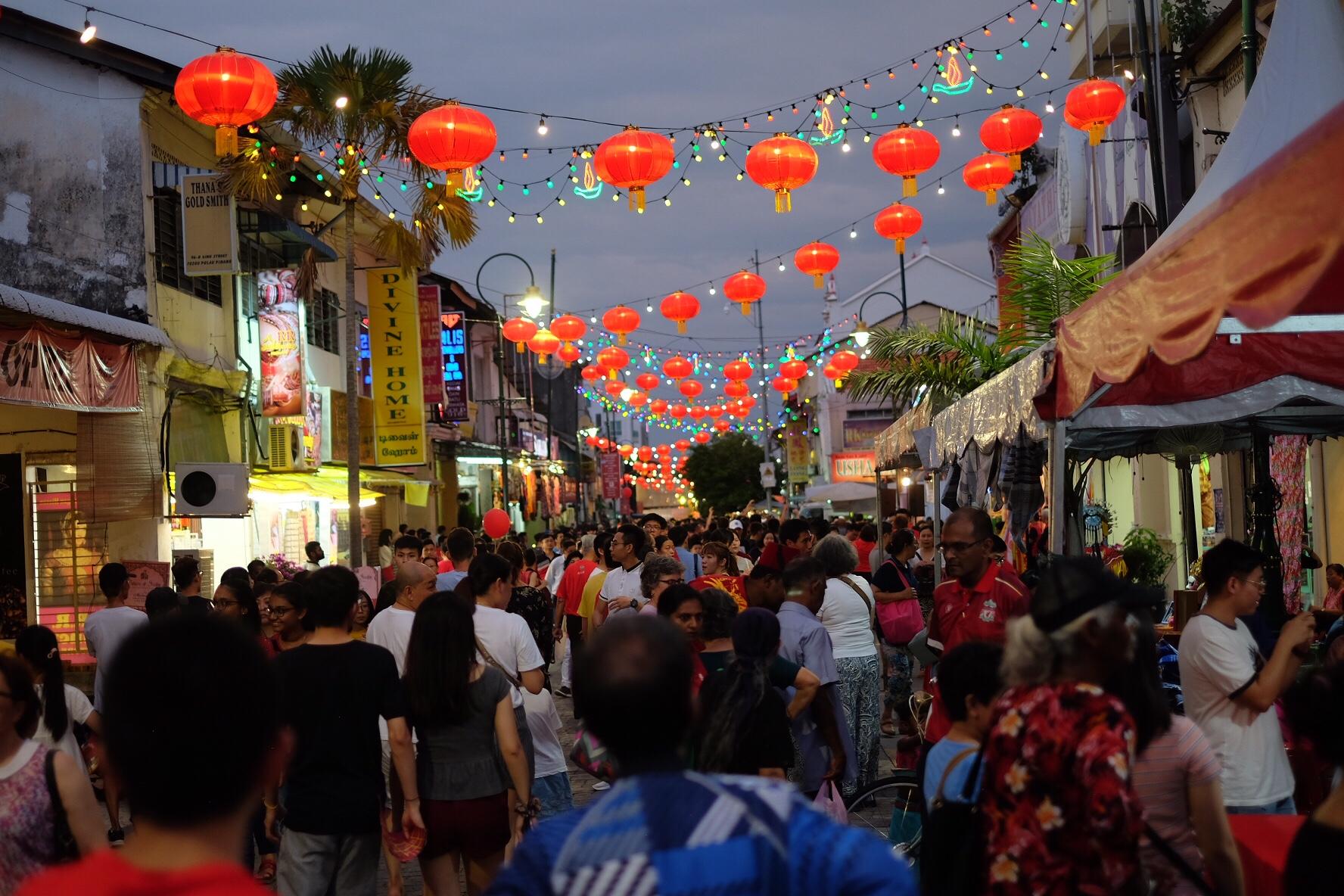 Kinesiskt nyår i George Town