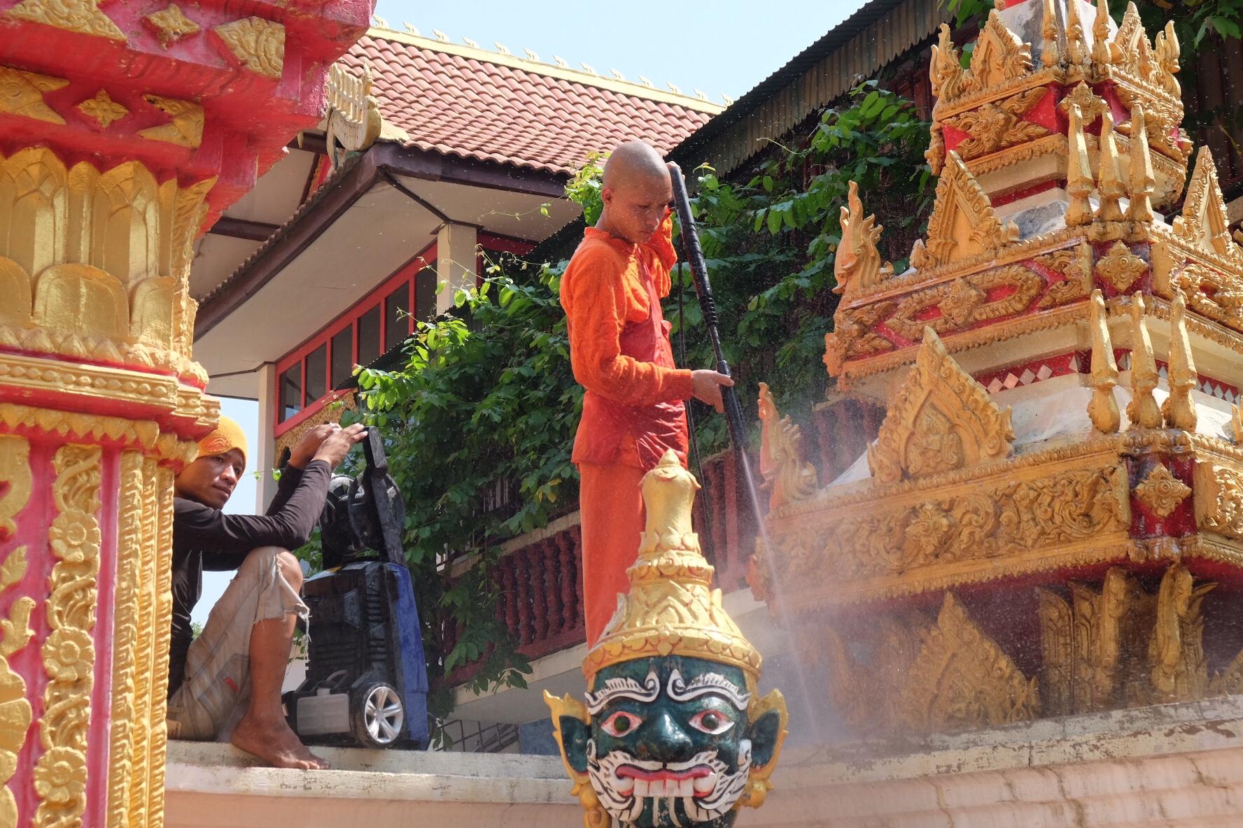 Laos utan plan, eller snarare ändrade planer…