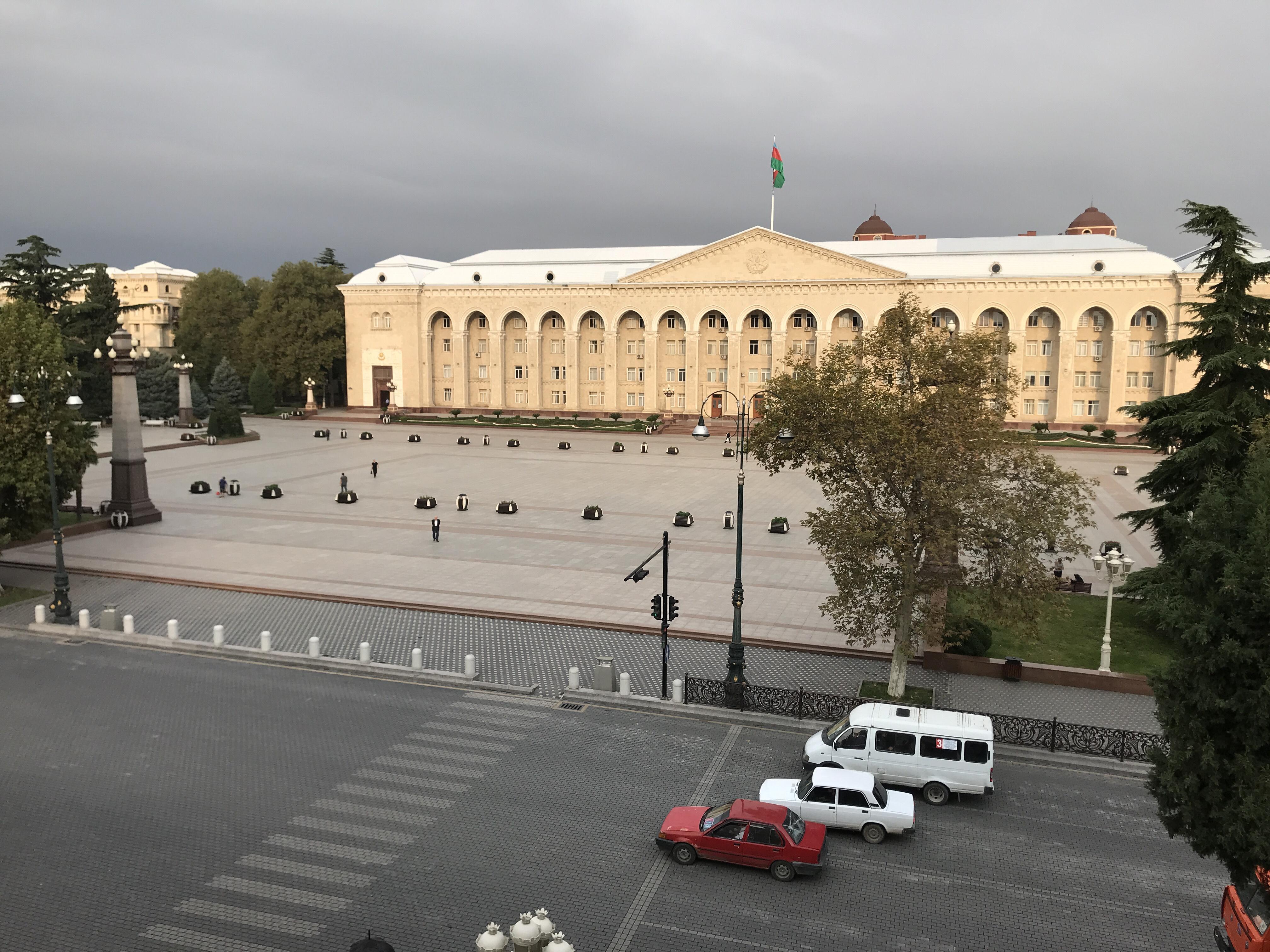 Från khanens palats till Stalins mönsterstad