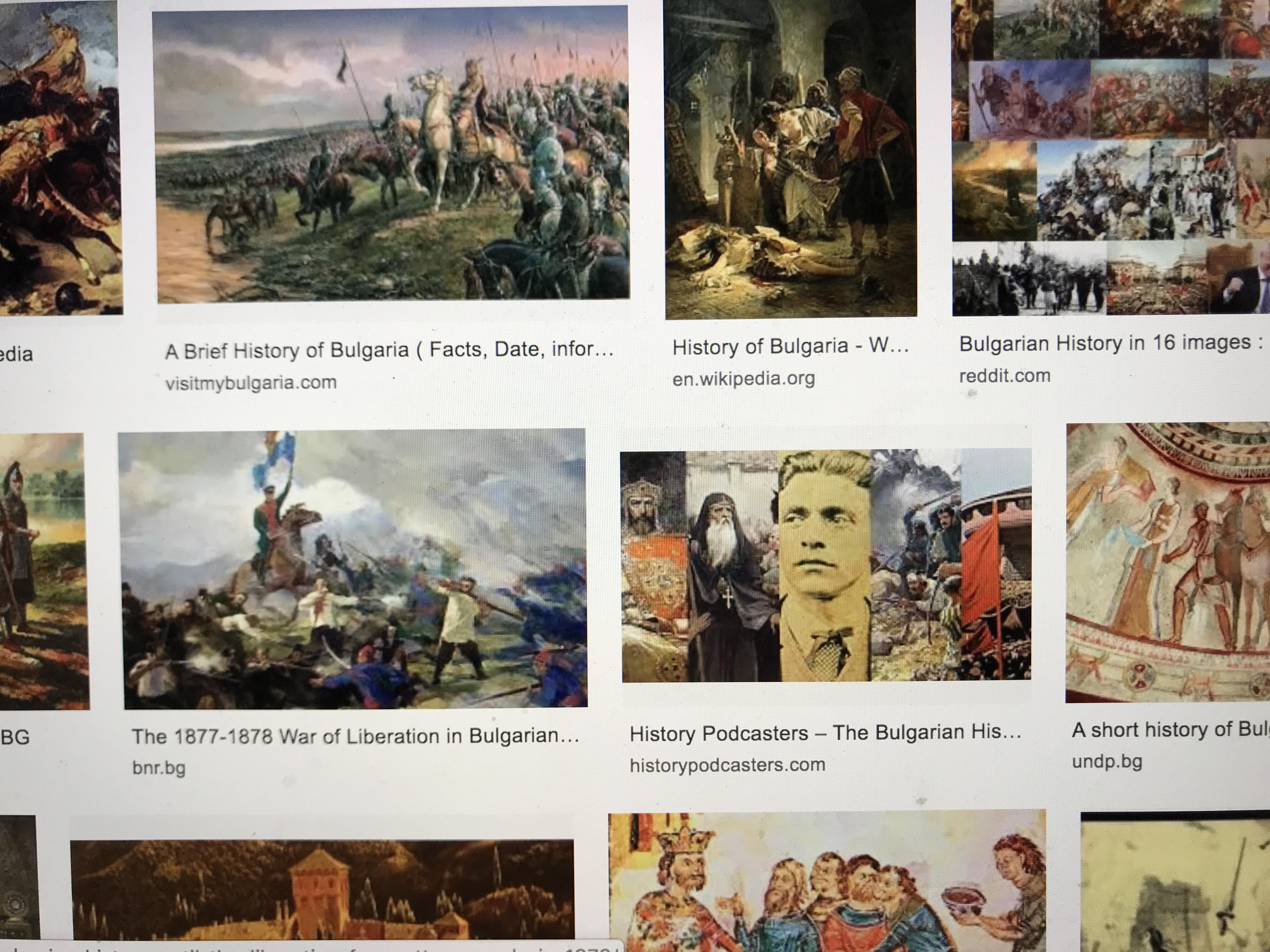 Bulgariens historia