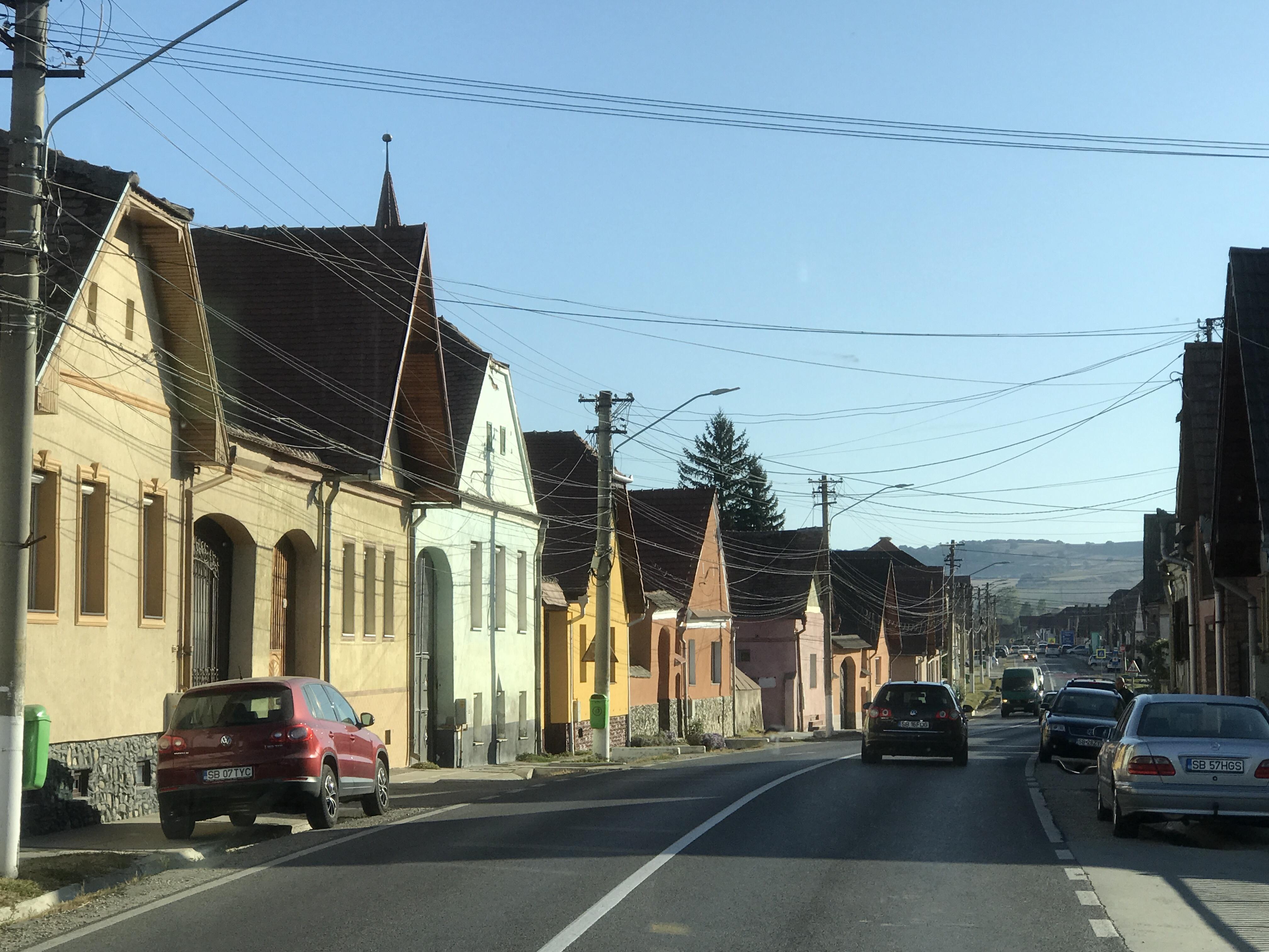 Genom pittoreska landsbyar