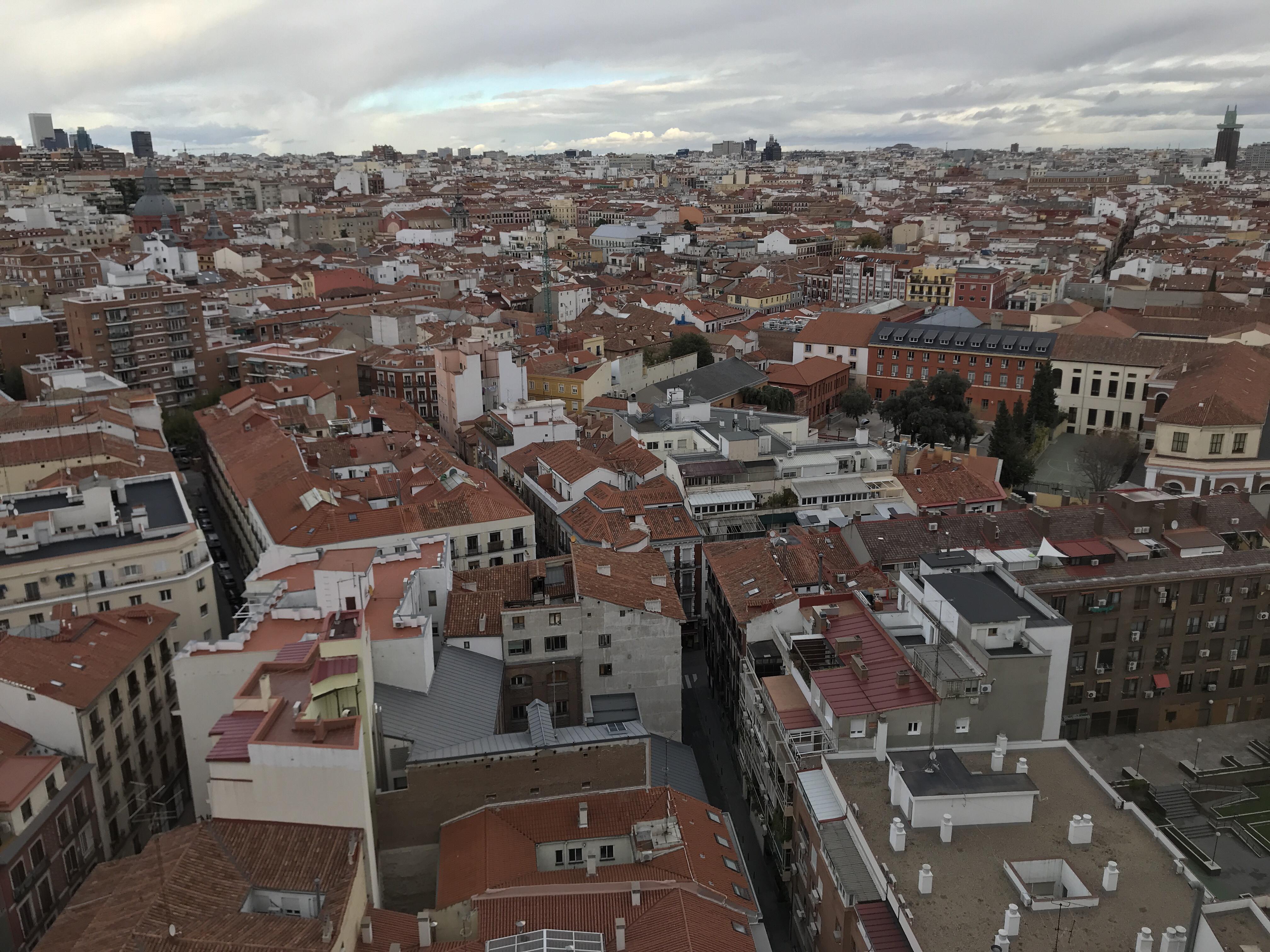 Förstaintryck av Madrid