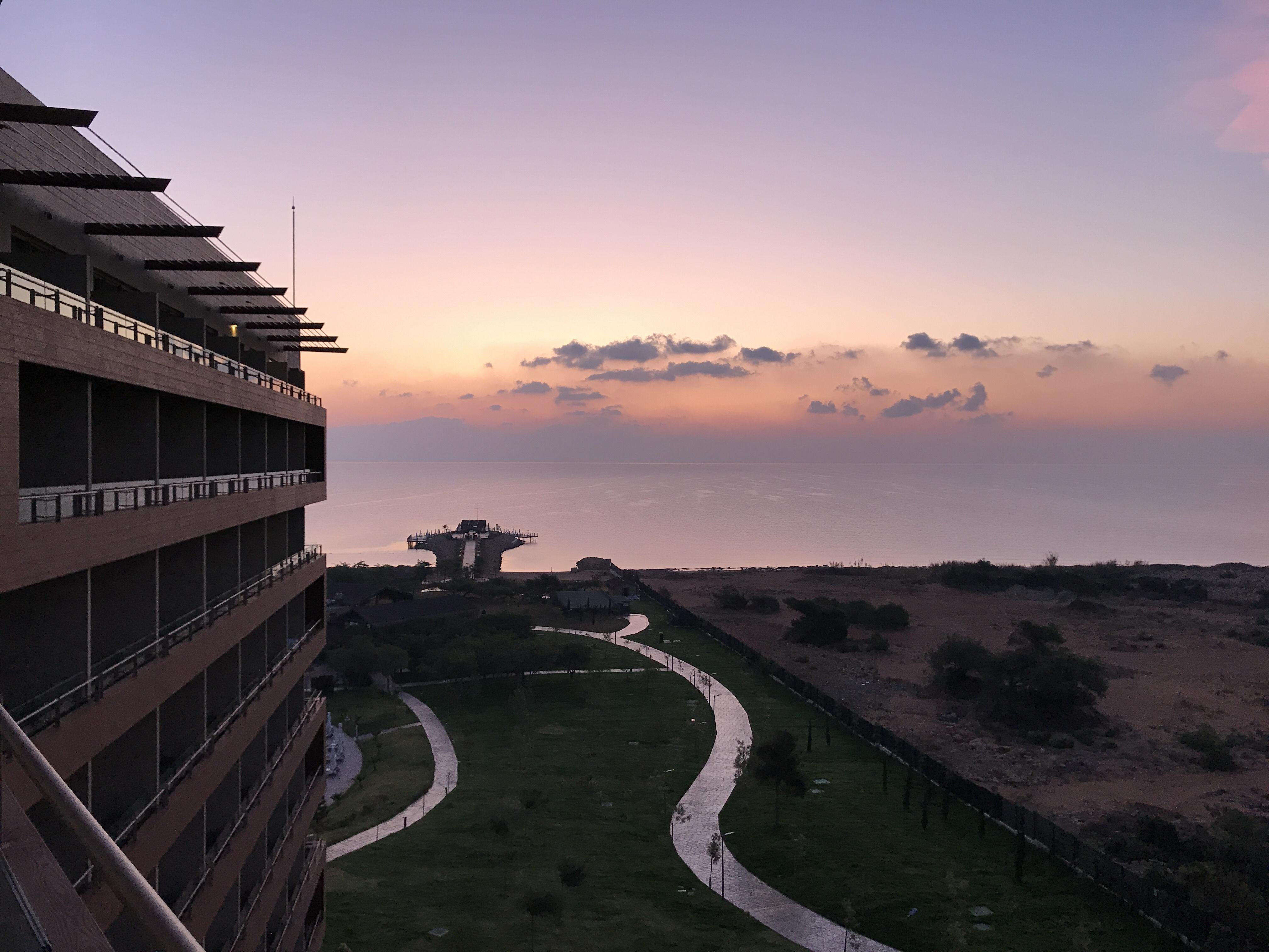 Första morgon på norra Cypern