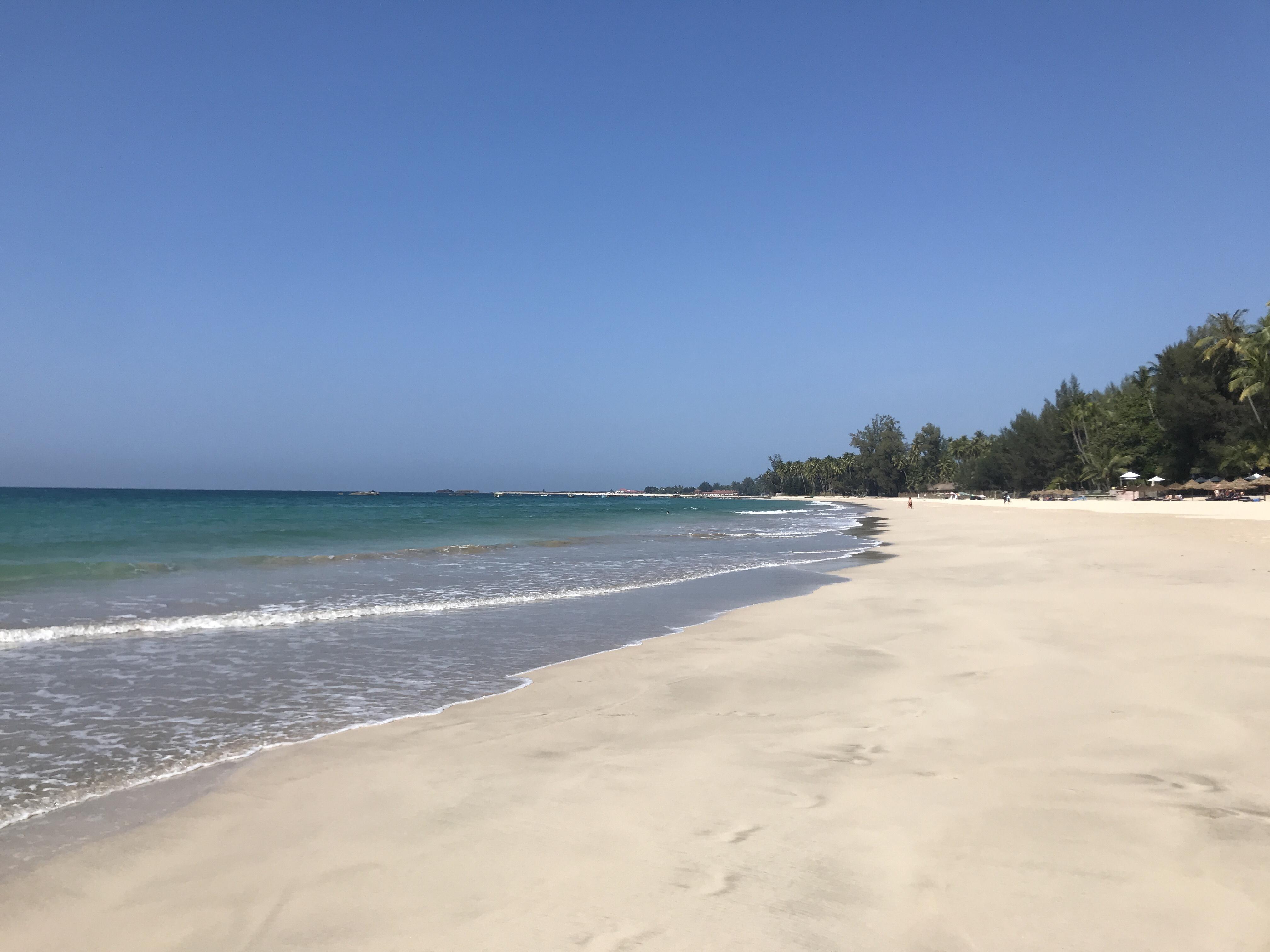 Sol, strand och sömn
