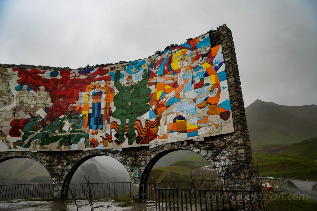 Sovjetiska mosaiker i Georgien – hemliga berättelser